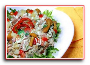 Рецепт салата «Вкусняшка»