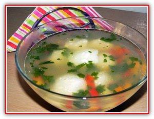Диетический суп с куриными фрикадельками (пошаговый фото-рецепт)
