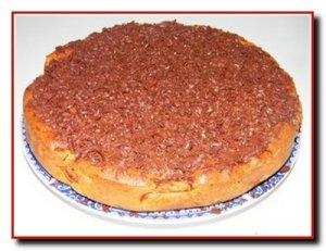 Яблочный пирог тертый шоколадом (с пошаговыми фотографиями)