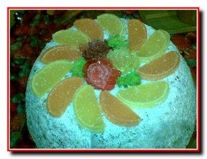 Желейный торт «Пальчики оближешь»
