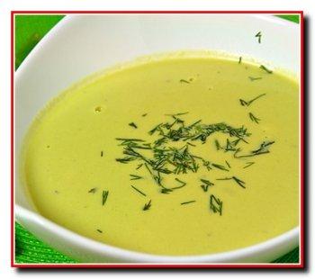 Суп из яичного желтка