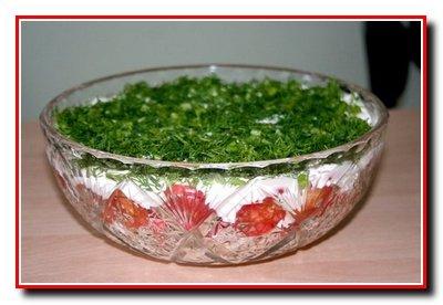 "Салат с сыром ""Фетакса"""