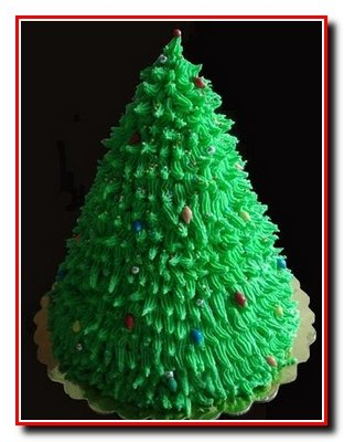 Медовый торт «Новогодняя елка»