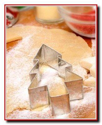 Песочное печенье – украшение на елку