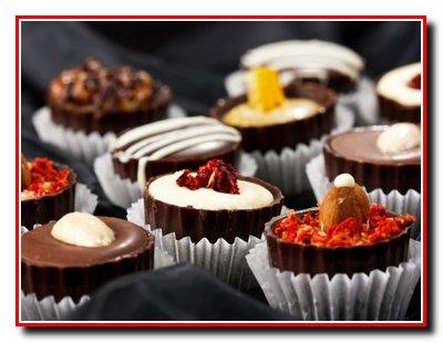 Новогодние конфеты - шоколадные
