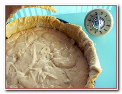 Шоколадный пирог в слоеном тесте ( с пошаговыми фотографиями)