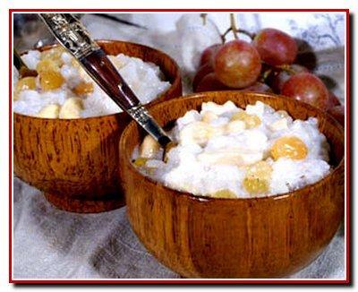 Экзотический рисовый десерт