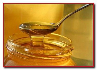 Черника с орехами и медом