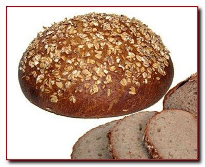 Хлеб из овсяных хлопьев
